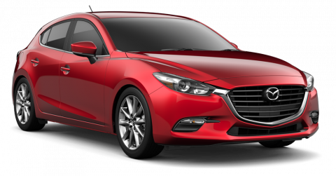 New 2018 Mazda3 Touring Hatchback w/Moonroof/Bose Package