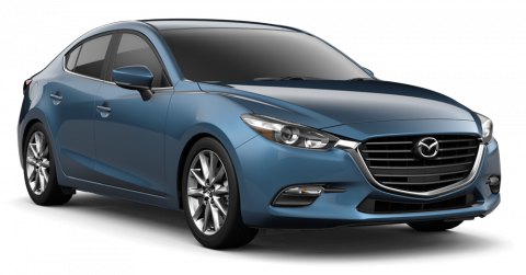 New 2018 Mazda3 Touring w/Moonroof/Bose Package